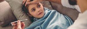 Що не можна робити під час грипу і ГРВІ у дитини