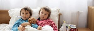 На які вірусні захворювання частіше хворіють діти
